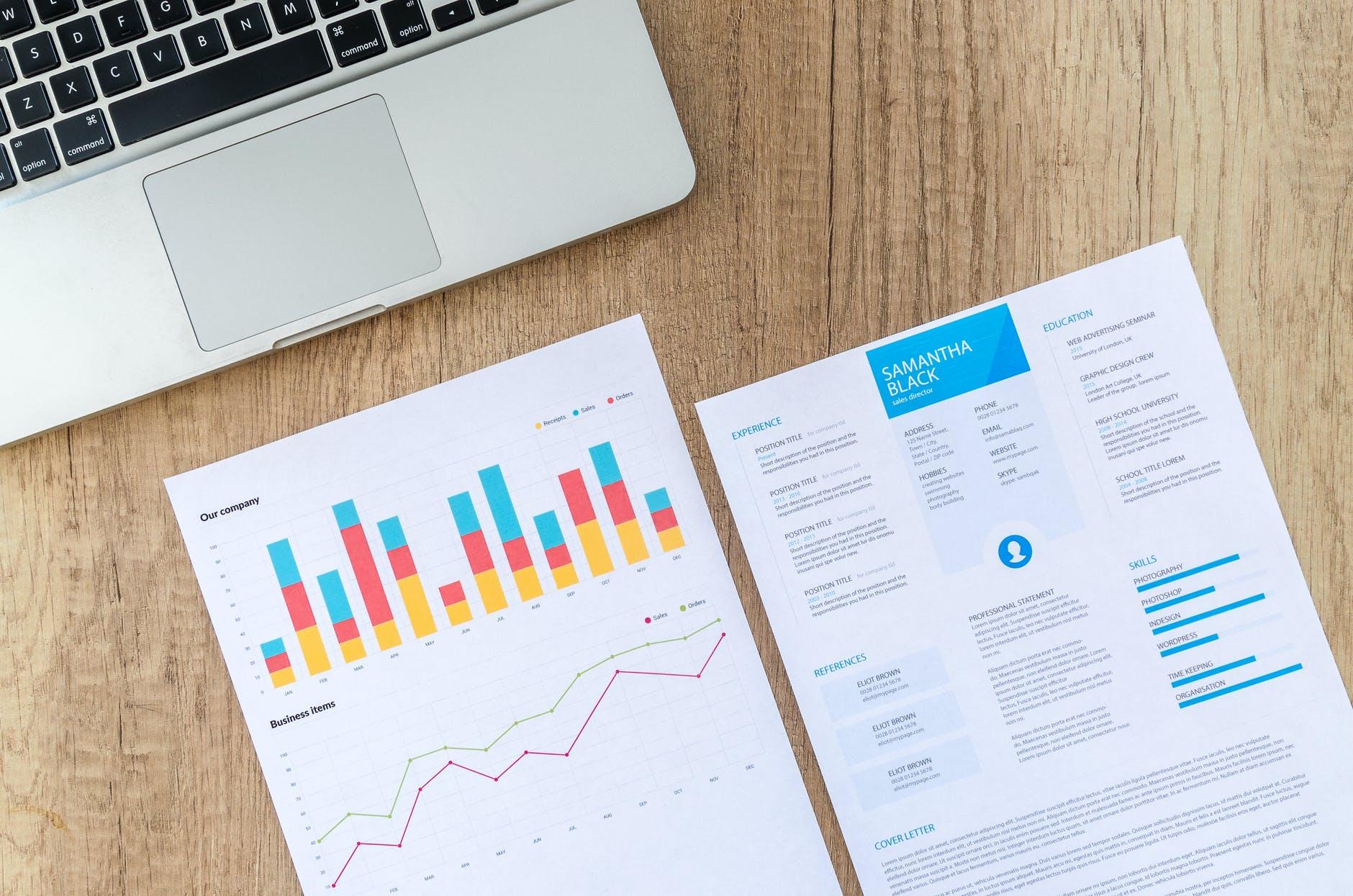 analýza získaných dat